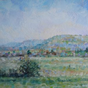 Beeding Brooks - Original Oil Painting