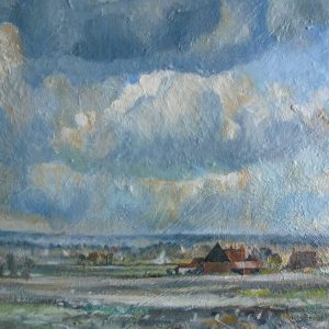 Windy Day after Seago