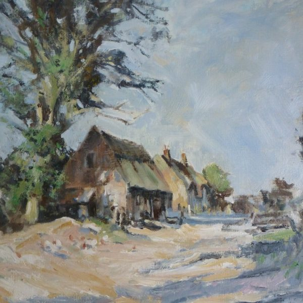 Trivett's Farm, Ludham, Norfolk. After Edward Seago